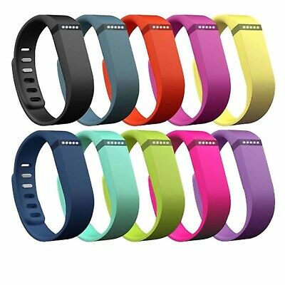 Replacement Band Wristband Bracelet with Metal Clasp for FITBIT FLEX small large