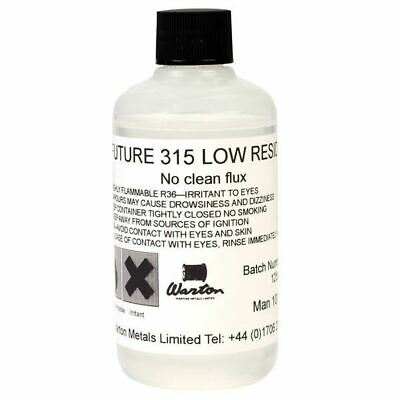 Warton Metals Future 315 Low Residue No Clean Flux 500ml Bottle
