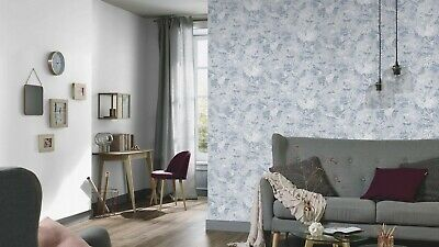 Erismann Prime Time II Blue Patterned Graphic Wallpaper 6473-08 - Free Delivery