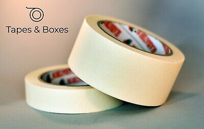 Indoor/Outdoor DIY Painting Decorating MASKING Tape 24-48mm x 50m FAST SHIPPING