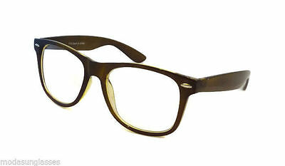 421700a360fc NERD Retro Vintage Oversized Frame Unisex Trendy Clear Lens Eye Glasses  GREEN