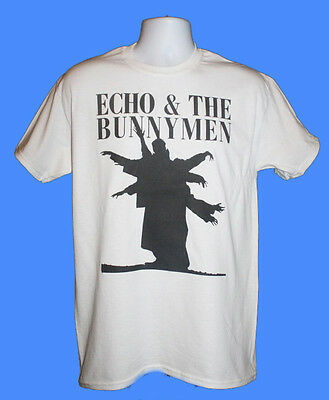 Echo And The Bunnymen Band T-Shirt Indie Retro 80S Vintage Small Medium Large Xl