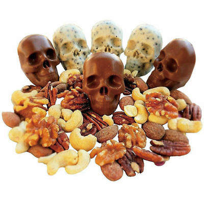3D Skull Ice Cube Mould Chocolate Cool Silicone Mould Trays Bar