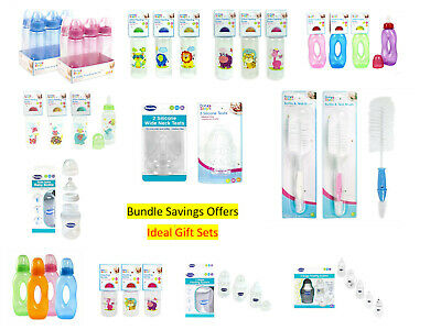 First Steps Baby Feeding Bottles Silicon Teats -  Bargin Bundle Deal Offers