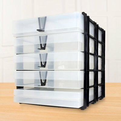 Storage Stak with 3 A4 Boxes, 2 A4 Slim and the Crafty Tool Box