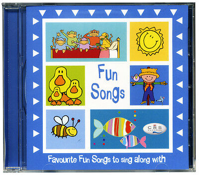 Fun Songs for Kids CD  Favourite children's fun nursery songs *NEW & WRAPPED*