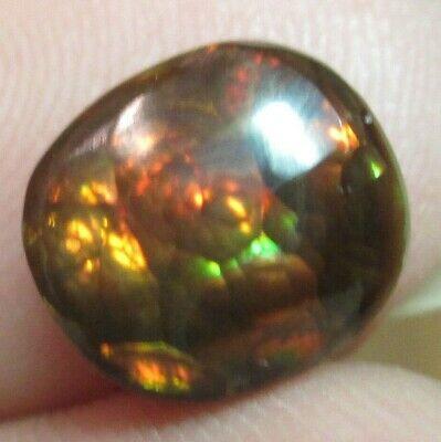 MEXICAN Fire Agate Gemstone Free form all  Natural Multicolored 8x7