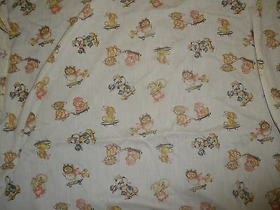 toddler bed fitted sheet vintage animals riding on skateboards