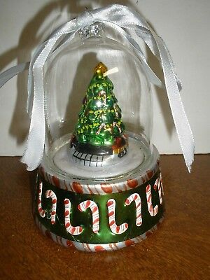 "Mr Christmas Music Box Tree with Candy Canes ""O Christmas Tree"""