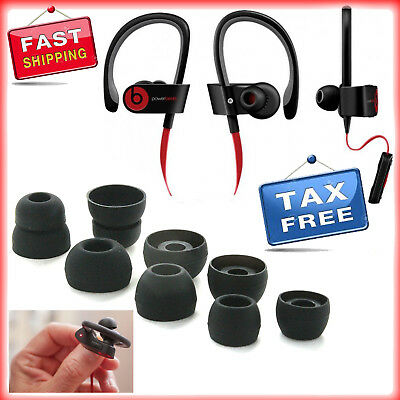 Replacement Earbuds Powerbeats 2 Wireless Beats By Dr Dre Eartips 4 Pairs Black