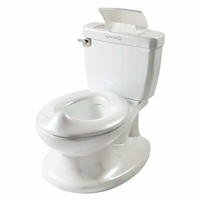 Summer Infant My Size Potty Training Toilet for Toddler with Flushing Sounds /2