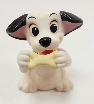 Disney 101 Dalmatians Lucky Bone Puppy Dog Figure Cake Topper Toy Moving hands
