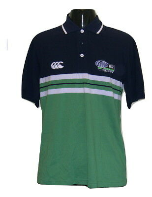 Canterbury World Rugby Polo Shirt Size UK Small Mens