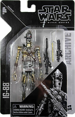 """IG-88 Star Wars The Black Series Archive 6"""" Inch Action Figure Wave 1"""