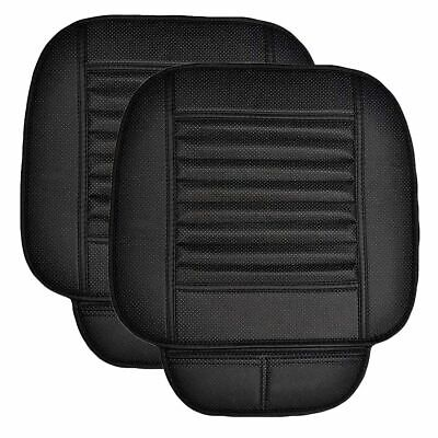 Breathable Non-slip Car Cover Seat Protector Cushion Black Front Cover Universal