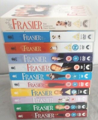 Frasier The Complete Series 1-11 Dvd Very Good