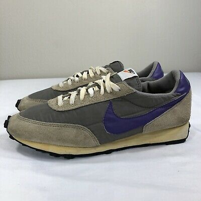 sports shoes f0d10 fcbaa 2007 Nike Daybreak Vintage Waffle Men s 12 Charcoal Running Trainer Athletic