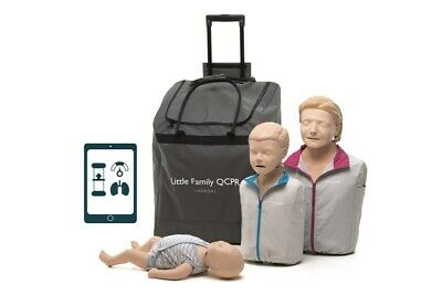 Anne -Little Family QCPR training manikins with wheeled bag - NEW