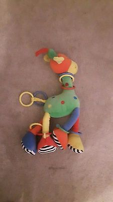 Lamaze Play & Grow Stretch Giraffe soft toy