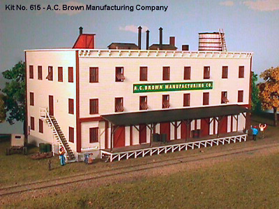American Model Builders 615 -  A. C. Brown Manufacturing Co - N Scale Kit