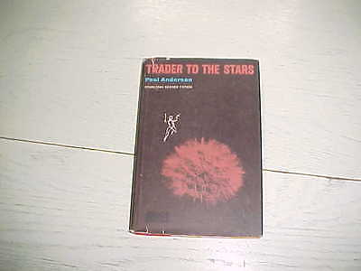1964 Trader To The Stars Book Poul Anderson Science Fiction Vintage HC DJ GZ-7