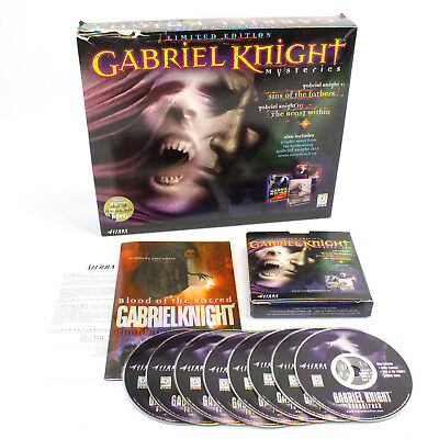 Gabriel Knight Mysteries: Limited Edition Boxset for PC CD-ROM by Sierra On-Line