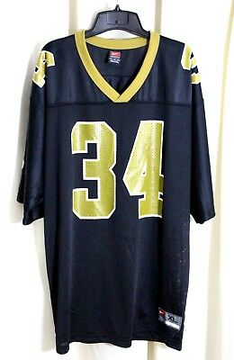 a0c672405f0 RICKY WILLIAMS #34 New Orleans Saints CHAMPION Jersey 48 XL Vintage ...