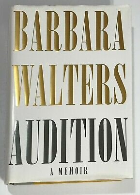 """""""Audition"""" by Barbara Walters, New, Autographed, First Edition"""