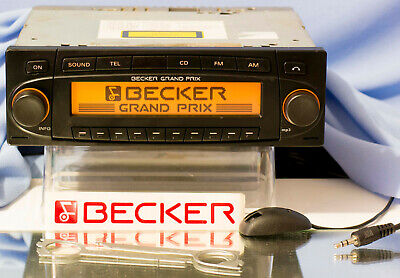 Becker Grand Prix 7990 MP3 BT Radio Komplettset für Youngtimer etc