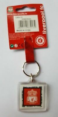 acc575) Official Licensed Football Liverpool  Keyring Key Ring plastic BNIP