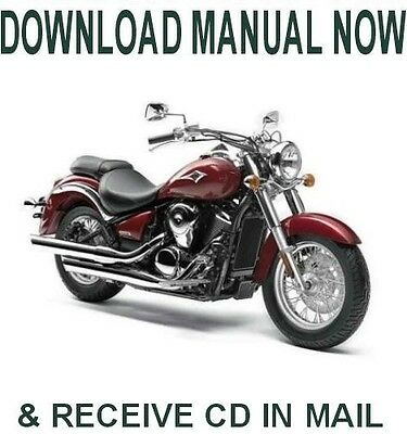 FACTORY SERVICE MANUAL Repair Book Kawasaki VN1500 VN