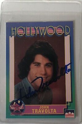 Autographs-original Entertainment Memorabilia John Travolta Signed Autographed Trading Card Saturday Night Fever 57 Jsa U99017