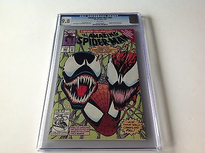 Amazing Spider-Man 363 Cgc 9.8 White Pgs Carnage Venom Human Torch Marvel Comics