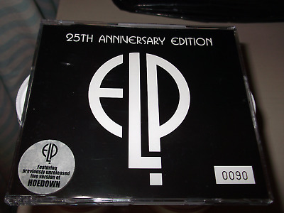 Emerson, Lake And Palmer Fanfare For The Common Man 25Th Anniversary Edition Elp