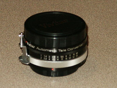 Vivitar Automatic Tele Converter 2x-3 for Pentax Mount