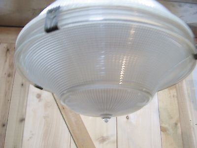 Awesome Vintage HOLOPHANE AISLE 2130 Light Fixture - All Original - Rewired!
