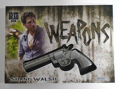 The Walking Dead Hunters & Hunted Shane Walsh Revolver Weapon Medallion