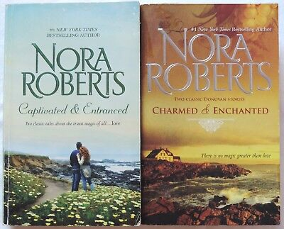Lot of 2 PBs/4 Novels NORA ROBERTS Complete Series DONOVAN LEGACY Witches