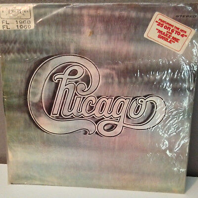 "CHICAGO - Self Titled (Taiwan Import) - 12"" Vinyl Record LP - VG+  FL-1968/69"