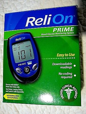 Reli-On Prime Blood Glucose Monitoring System