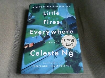 CELESTE NG SIGNED - LITTLE FIRES EVERYWHERE - Limited Hardcover Edition NEW