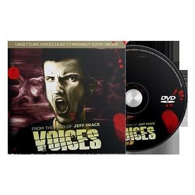 Voices (DVD & Gimmicks) by Jeff Prace - Magic Tricks