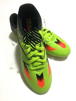 abedeb391dde Adidas Messi 15.3 FG AG Youth Soccer Cleats Green/Orange/Black 113543196  Size 5