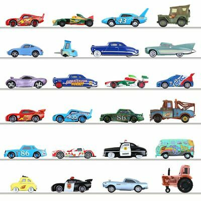 1:55 Disney Pixar Cars 3 Metal Car Diecast Sally Frank Cars Mcqueen Mater Toy FR