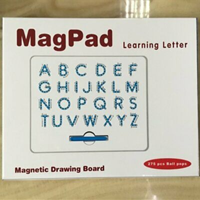 Compact Magnetic Drawing Board Kids Drawing Pad Tablet Learning Letter Gifts AZ