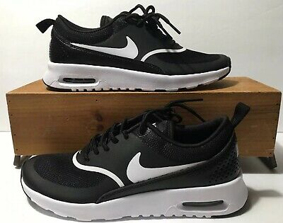 save off a4b0a a1408 Nike Air Max Thea Women s Black White Shoes Sneakers Size 6.5 NEW!