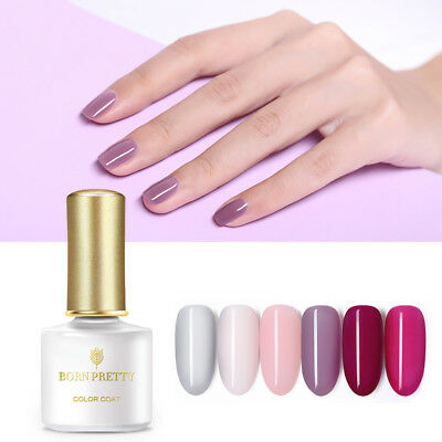 BORN PRETTY 6ml Jelly UV Gel Polish Semi-transparent Soak Off Nail Art Varnish