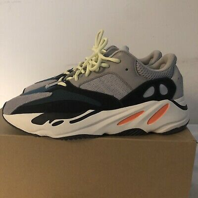 1d64c4cc64679 ADIDAS YEEZY BOOST 700 Wave Runner Solid Grey B75571 Men s Shoes ...