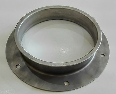 120mm Jacob Pipe connecting flange, stainless s 304, p/n 111123431