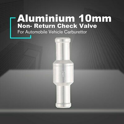 10mm Fuel Non- Return Inline Check Valve Vacuum Hose One Way For Automobile AZ